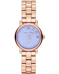 Marc By Marc Jacobs Womens Baker Rose Goldtone Stainless Steel Bracelet Watch 28mm - Lyst