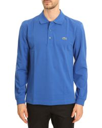 Lacoste Royal Blue Classic Polo - Lyst