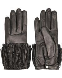 Diane von Furstenberg - Fringe Leather Glove - Lyst