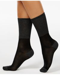 Vince Camuto - Women's Colorblock Trouser Socks - Lyst