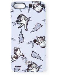 Markus Lupfer - Cat Fight Iphone Case - Lyst