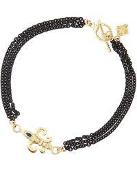 Armenta Double-sided 3-strand Maltese Cross Bracelet - Lyst