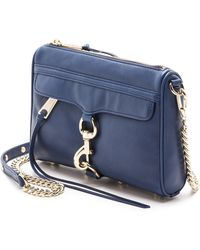 Rebecca Minkoff Mini Mac Bag - Almond - Lyst