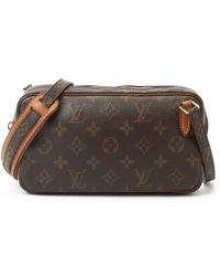 Louis Vuitton Preowned Brown Monogram Canvas Marly Bandouliere Shoulder Bag - Lyst