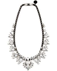 "Ellen Conde - Small Bib Necklace, 20"" - Lyst"