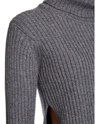 1205 - Dulcet Ribbed Wool-knit Roll-neck - Lyst