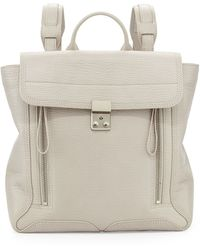 3.1 Phillip Lim Pashli Zip Backpack - Lyst
