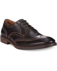 Johnston & Murphy Jarrell Wing-Tip Oxfords - Lyst