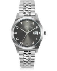 Marc By Marc Jacobs The Slim Bracelet 36Mm Silver Tone Stainless Steel Women'S Watch - Lyst