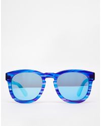 Wildfox Classic Fox Deluxe D Frame Sunglasses - Lyst