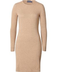 Ralph Lauren Blue Label Cashmere Sweater Dress - Lyst