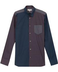 Paul & Joe Contrast Fabric Shirt - Lyst