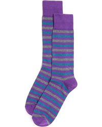 Bloomingdale's - Rugby Stripe Socks - Lyst