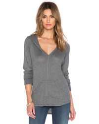 Feel The Piece - Everett V Neck Hoodie - Lyst