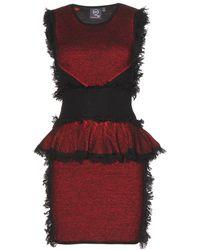 McQ by Alexander McQueen Wool and Cashmereblend Dress - Lyst