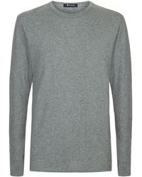 T By Alexander Wang | Long Sleeved Cotton T-shirt | Lyst