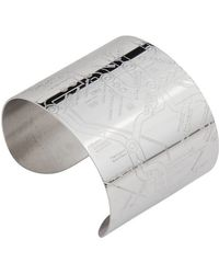Designhype - Washington Dc Metro Cuff Embossed - Lyst