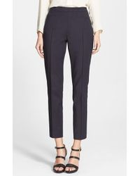 Akris Punto 'Franca' Techno Cotton Pants - Lyst