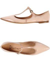 Eva Turner Ballet Flats - Lyst