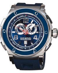 Orefici Watches - Regatta Yachting Chronograph, Blue - Lyst