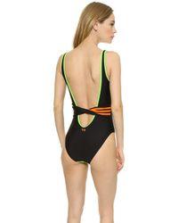 Y-3 - Light Flash Swimsuit - Light Flash Green - Lyst