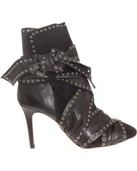 Isabel Marant Alease Studded Boot - Lyst