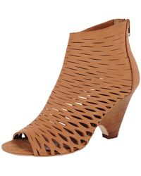 Strategia Laser Cut Bootie - Lyst
