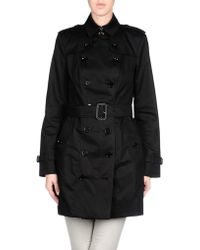 Burberry Prorsum Full-length Jacket black - Lyst