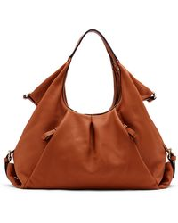 Vince Camuto Cris Leather Shopper Tote Bag - Lyst