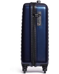 "Dot Drops - X-tra Light 21"" Carry-on Suitcase - Metallic Blue - Lyst"