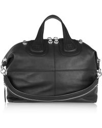 Givenchy Medium Nightingale Bag in Black Leather - Lyst