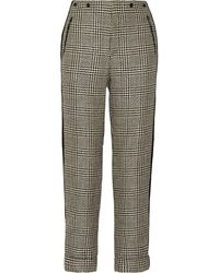 Rag & Bone Woodstock Tweed Straight Leg Pants - Lyst