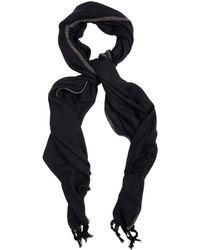 Yohji Yamamoto Muffler Wool Scarf - Lyst
