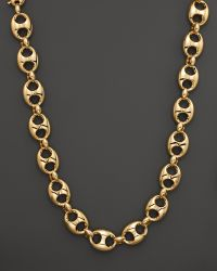 Gucci Marina Chain Necklace in 18k Yellow Gold - Lyst