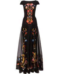 Temperley London Long Toledo Dress - Lyst