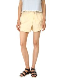 Marc By Marc Jacobs Wrap Shorts - Lyst