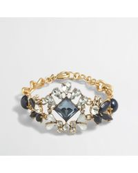 J.Crew Factory Crystal Center Bracelet - Lyst
