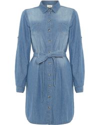 Linea Weekend Denim Shirt Dress - Lyst