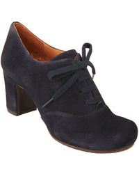 Chie Mihara Misona Suede Highheel Ankle Boots - Lyst