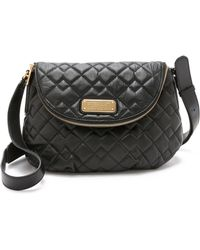 Marc By Marc Jacobs New Q Quilted Natasha Bag - Black - Lyst
