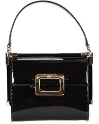 Roger Vivier Handbag Bag Miss Viv Mini Patent - Lyst