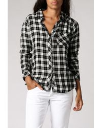 Rails Hunter L/S Flannel black - Lyst