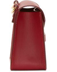 Sophie Hulme - Red Nano Milner Envelope Bag - Lyst