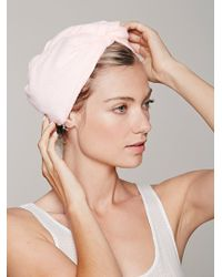 Free People Microfiber Hair Towel - Lyst