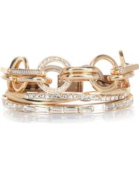 River Island Gold Tone Chain Bracelet Pack - Lyst