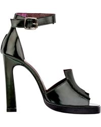 Opening Ceremony Anais Ankle-Strap Sandals green - Lyst