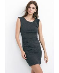 Velvet By Graham & Spencer Reta Soft Texture Knit Tank Dress black - Lyst