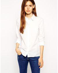 Asos Long Sleeve Shirt - Lyst