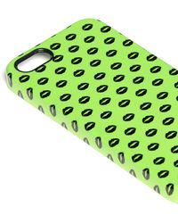 Markus Lupfer - Small Smacker Lip Print Iphone 5/5s Case - Lyst