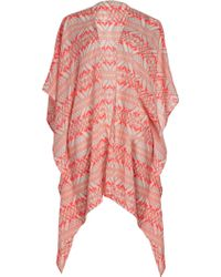 Forever 21 Tribal Print Coverup - Lyst